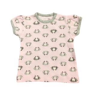 تی شرت آستین کوتاه نوزادی پولونیکس مدل پرنده کد 17