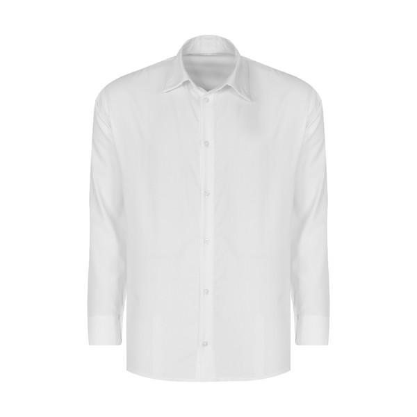 پیراهن آستین بلند مردانه گری مدل A4