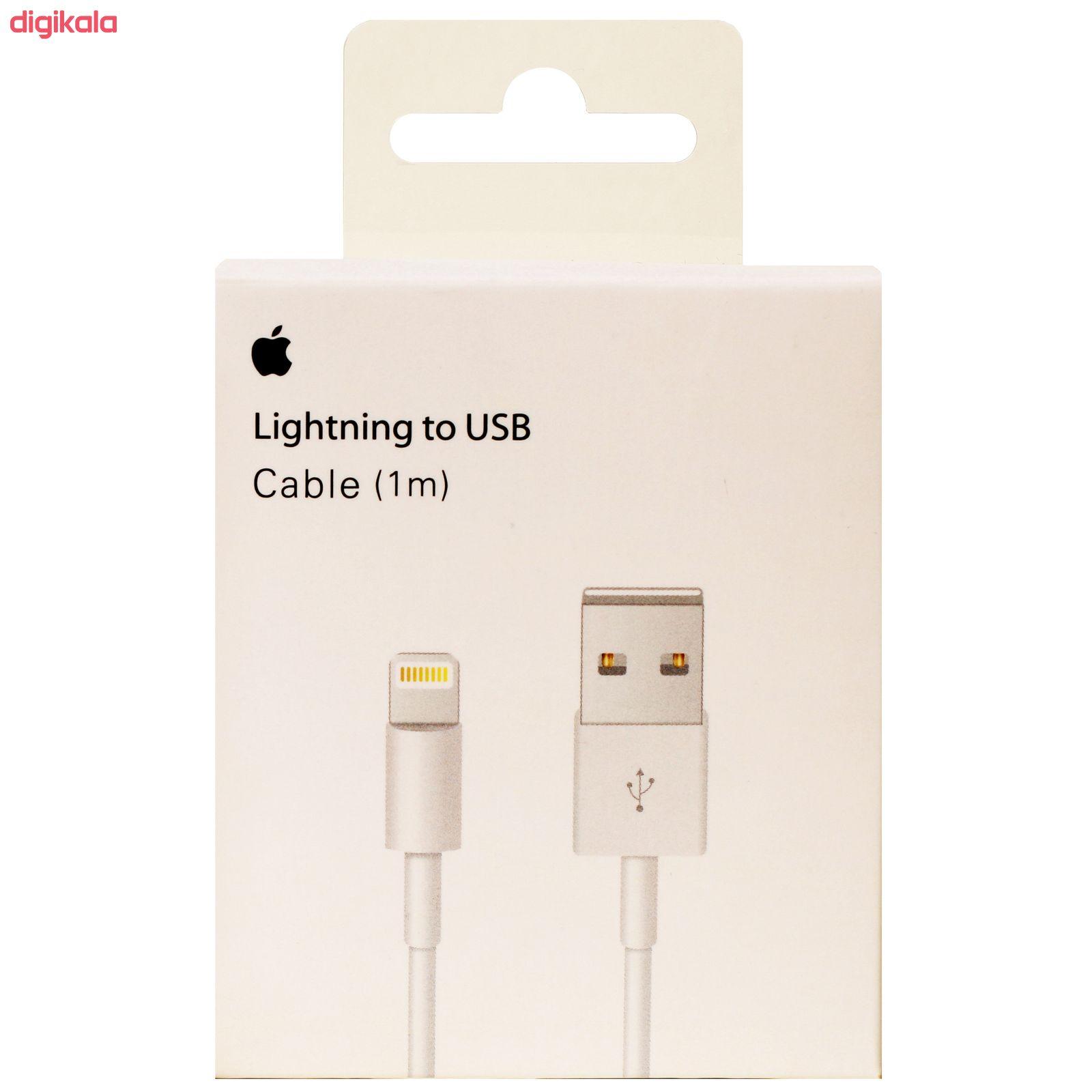 کابل تبدیل USB به لایتنینگ مدل MD818M/ZQ طول 1 متر main 1 1