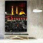 پوستر دیواری طرح حرم مطهر امام حسین(ع)  مدلZB187