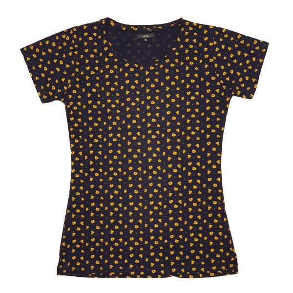 تی شرت آستین کوتاه زنانه سسیل مدل TSF02