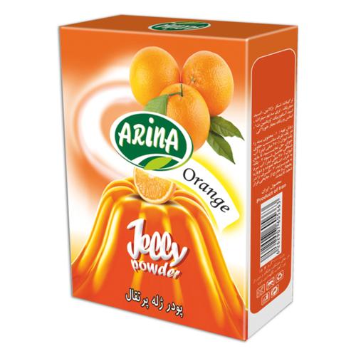 پودر ژله پرتقال آرینا - 100 گرم