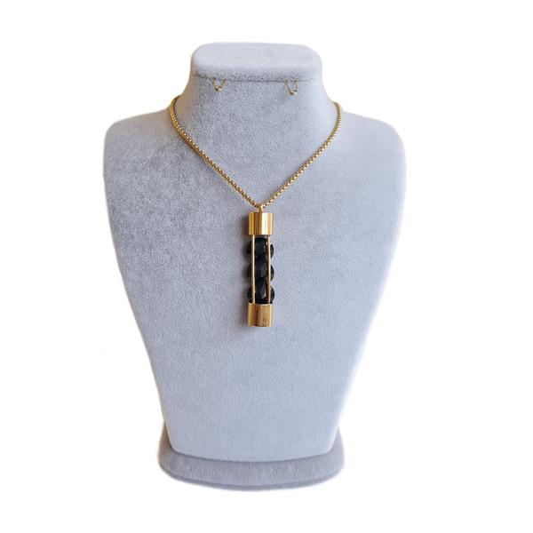 گردنبند دخترانه استینلس استیل مدل رومانتویی