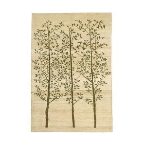 گبه دستبافت چهار و نیم متری طرح درختی کد 874 H