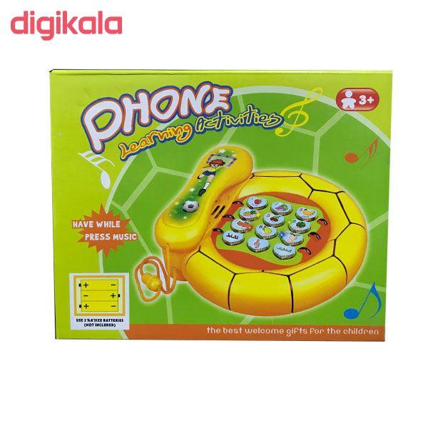 بازی آموزشی انگلیسی مدل تلفن مدل 8080 main 1 2