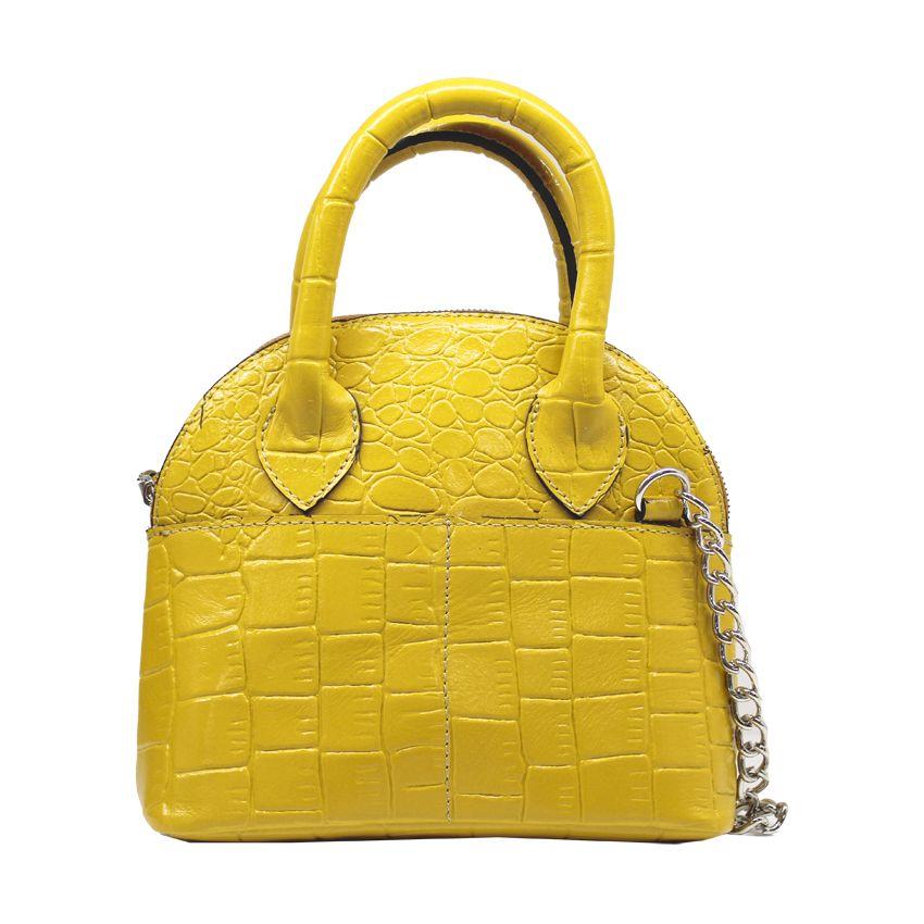 کیف دوشی زنانه چرم آرا مدل d076 -  - 8
