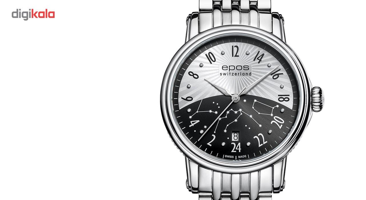 ساعت مچی عقربه ای مردانه ایپوز مدل 3390.302.20.38.30