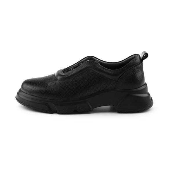 کفش روزمره زنانه مارال چرم مدل پاتریسیا 1035-Black