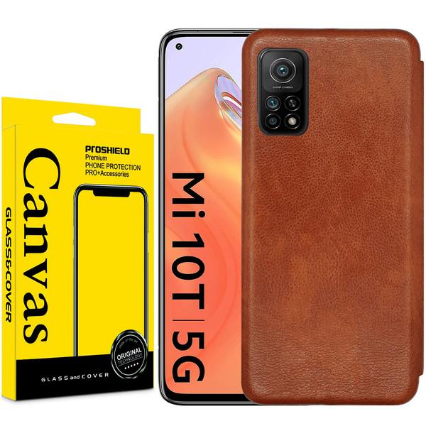 کیف کلاسوری کانواس مدل MAX SERIES مناسب برای گوشی موبایل شیائومی MI 10T / Mi10T Pro