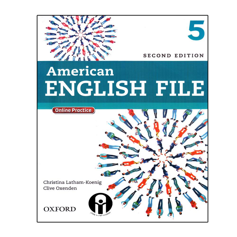 خرید                       کتاب American English File 5 اثر جمعی از نویسندگان انتشارات الوند پویان