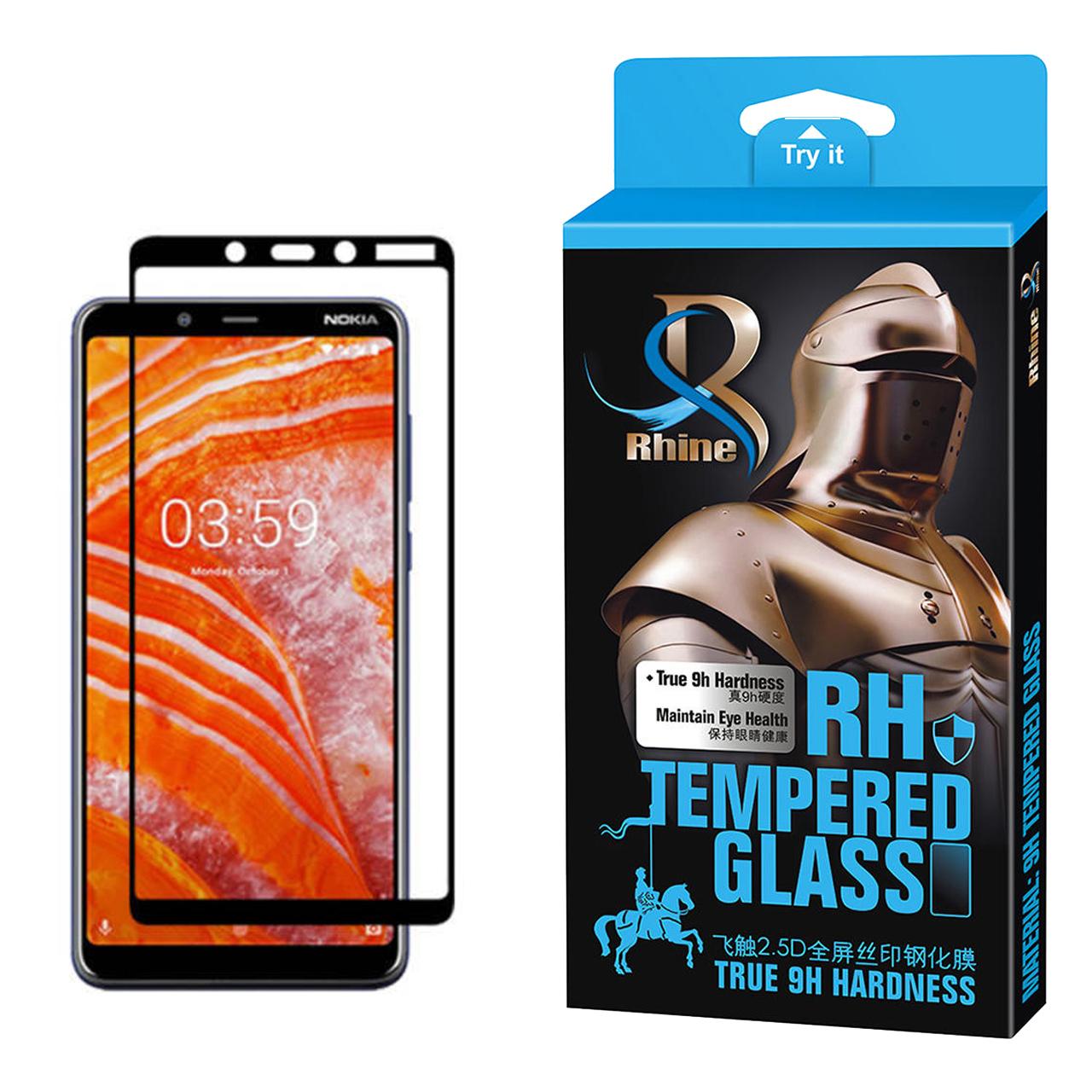 خرید                     محافظ صفحه نمایش راین مدل R_9 مناسب برای گوشی موبایل نوکیا 3.1 Plus