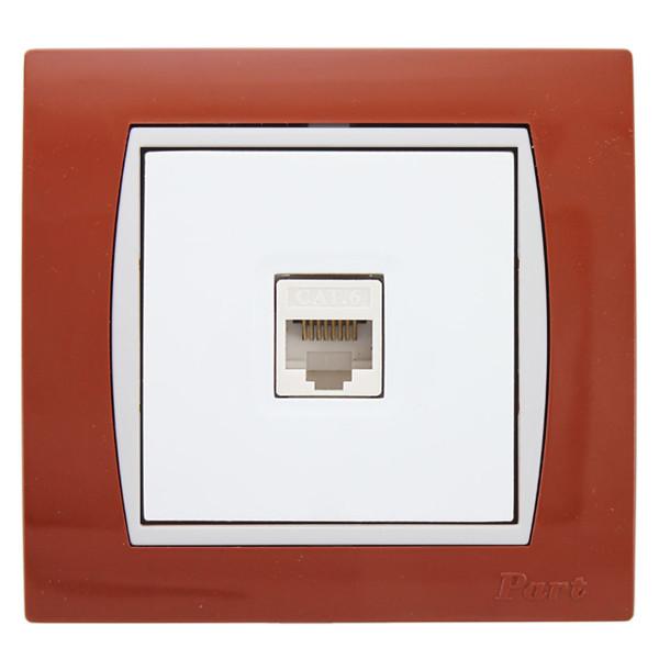 پریز شبکه پارت الکتریک مدل آذین کد 5001W4029