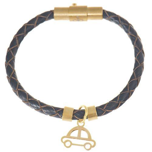 دستبند کودکانه طلا 18 عیار رزا مدل BW104