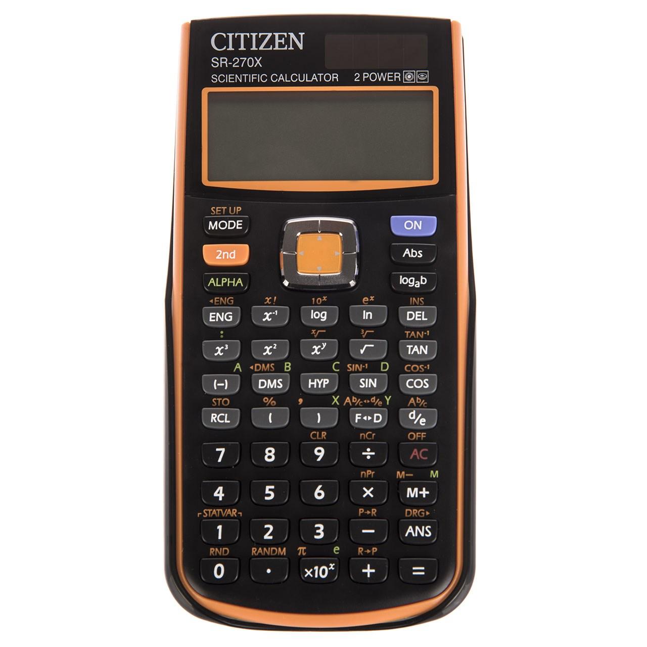 ماشین حساب سیتیزن مدل SR-270XOR | Citizen SR-270XOR Calculator