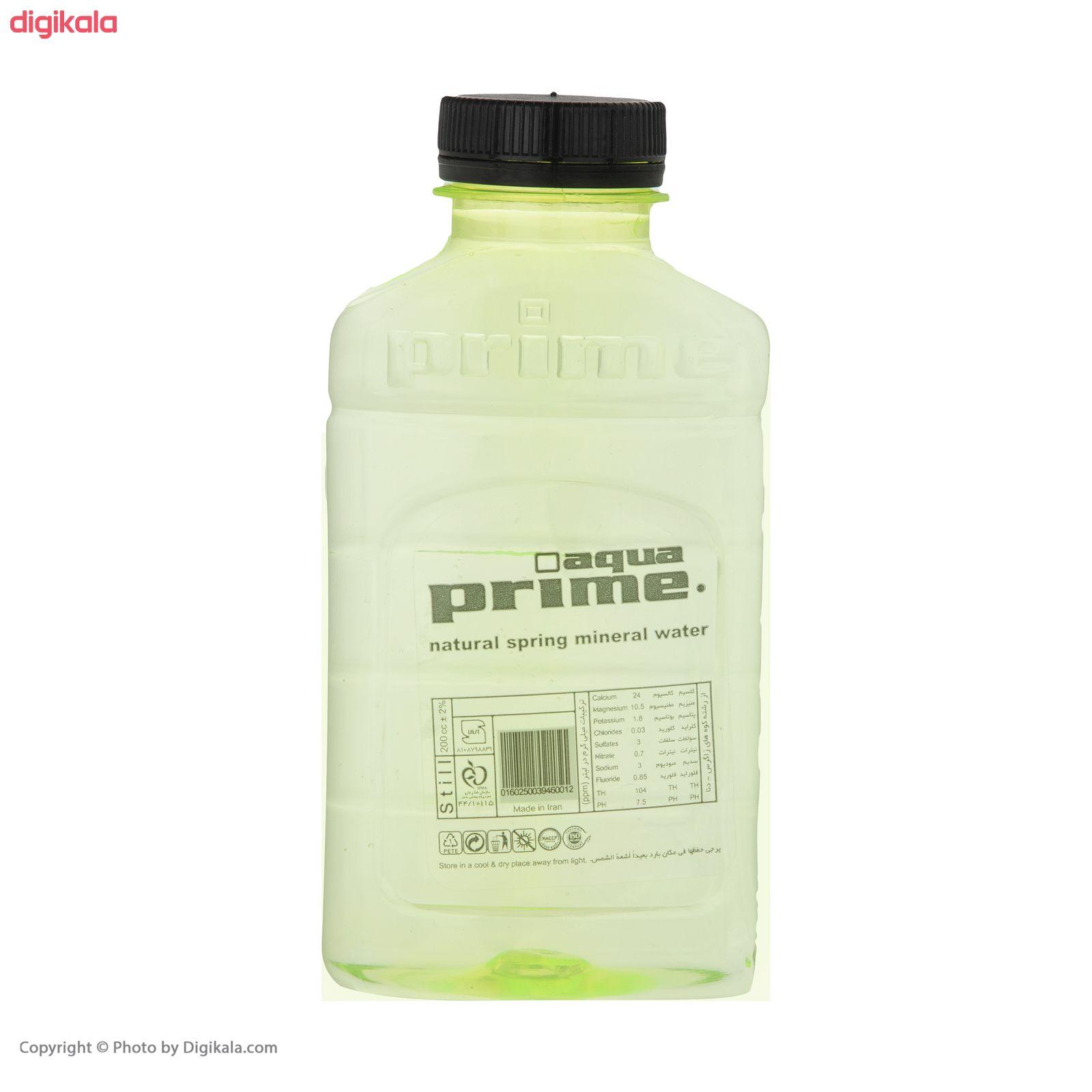 آب معدنی آکوا پرایم - 200 میلی لیتر بسته 18 عددی main 1 3