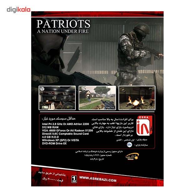 بازی کامپیوتری Patriots Under Fire