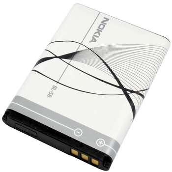 باتری موبایل مناسب برای نوکیا  BL-5B با ظرفیت 890 میلی آمپر ساعت
