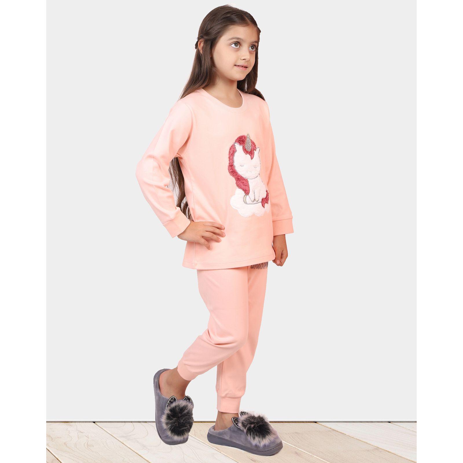 ست تی شرت و شلوار دخترانه مادر مدل 303-80 main 1 11