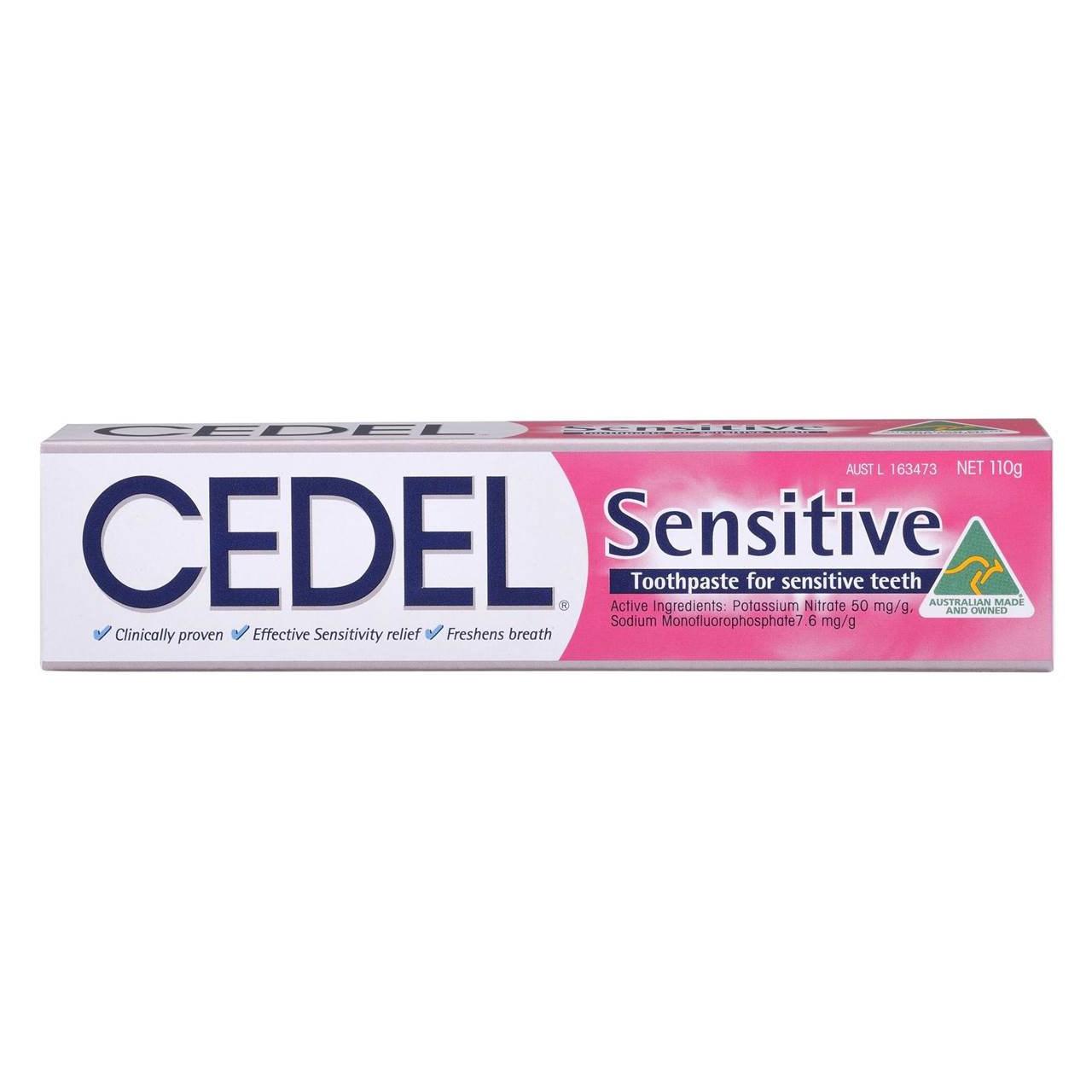 قیمت خمیر دندان سیدل مدل Sensitive Fluoride حجم 110 میلی لیتر