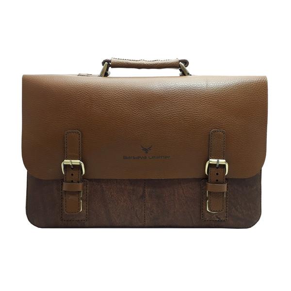 کیف اداری مردانه چرم بارثاوا مدل 1104