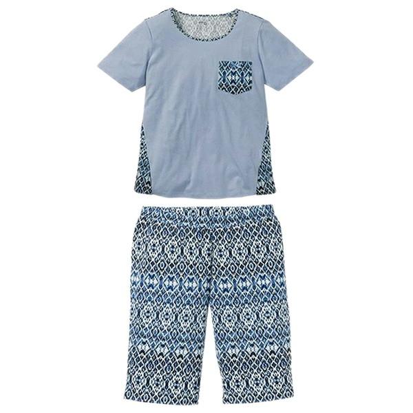 ست تی شرت و شلوارک زنانه اسمارا مدل 4093679