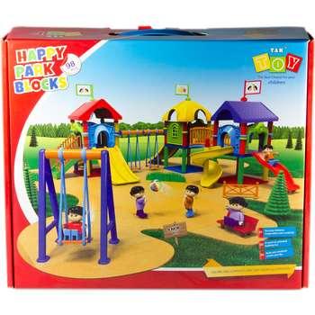 بازی آموزشی 98 تکه تک توی مدل Happy Park Blocks