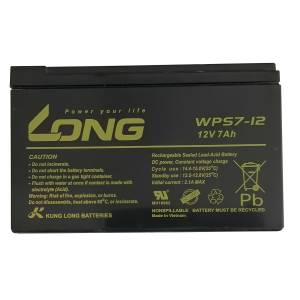 باتری یو پی اس 12 ولت 7 آمپر ساعت لانگ مدل WPS7-12