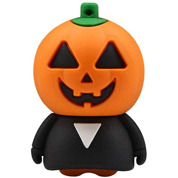 فلش مموری کینگ فست مدل Pumpkin Halloween HA-12 ظرفیت 32 گیگابایت