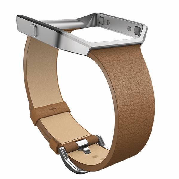 بند مچ بند هوشمند فیت بیت مدل Blaze Slim Leather سایز کوچک