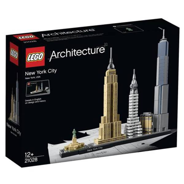 لگو سری Architecture مدل New York City Mixed 21028
