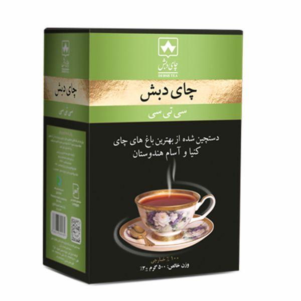چای سی تی سی کله مورچه ای چای دبش - 500 گرمی