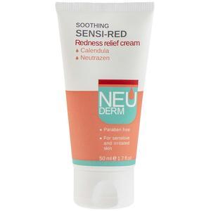 کرم ضد قرمزی پوست نئودرم مدل Soothing Sensi-Red حجم 50 میلی لیتر