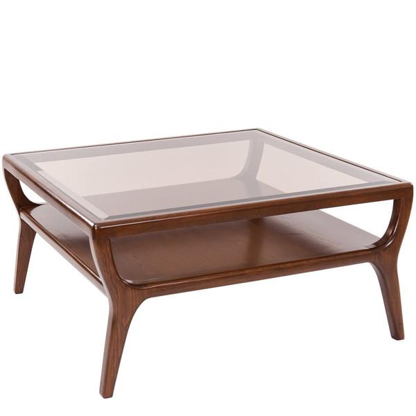 میز جلو مبلی نیک آذین مدل جنوا صفحه شیشه ای