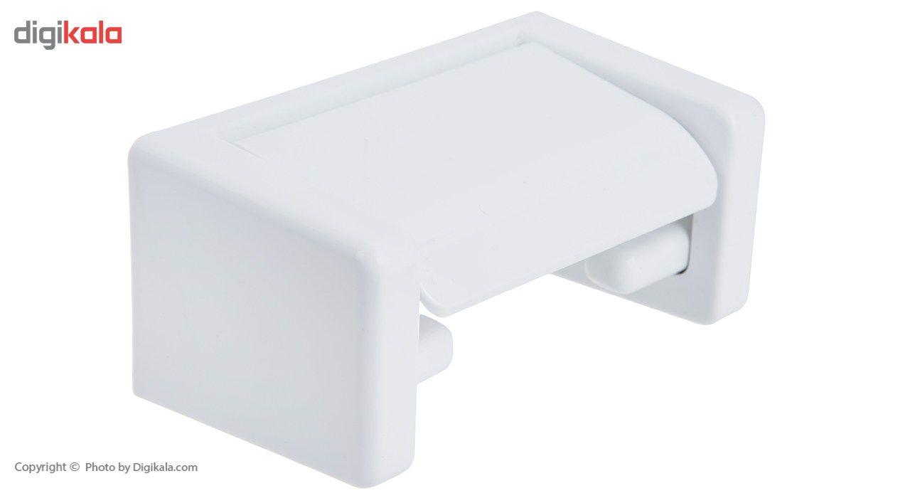 جای دستمال توالت سنی پلاستیک مدل Niyama main 1 1