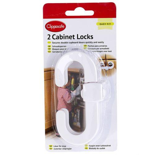 قفل کابینت کودک دو عددی کلیپاسیف مدل CL721