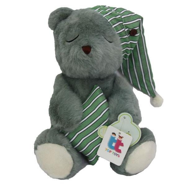 عروسک تاپ تویز طرح خرس خوابالو ارتفاع 30 سانتی متر