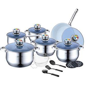 سرویس پخت و پز 18 پارچه رویالتی لاین مدل RL1801BC