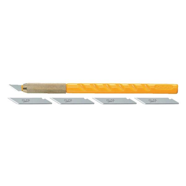 مجموعه 6 عددی کاتر قلمی و تیغ کاتر الفا مدل AK1-5B