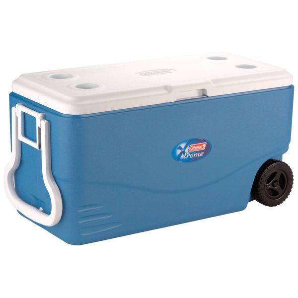 یخدان سفری کلمن مدل 100qt گنجایش 95 لیتر