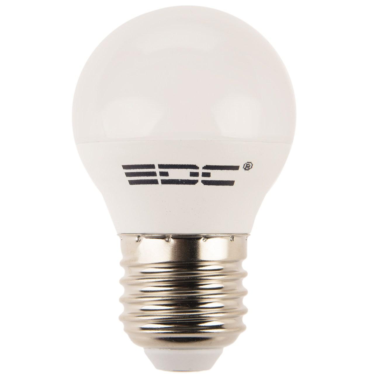 لامپ اس ام دی 5 وات ای دی سی پایه E27