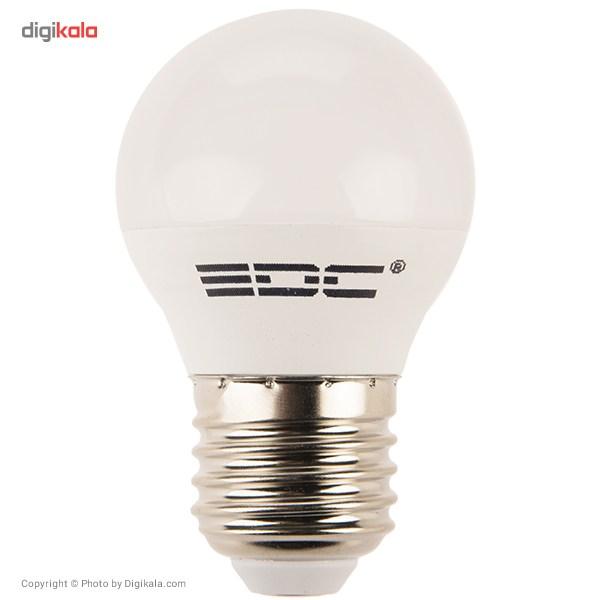 لامپ اس ام دی 5 وات ای دی سی پایه E27  EDC 5W SMD Lamp E27