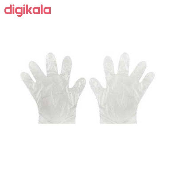 دستکش یکبار مصرف کوروش مدل 01 مجموعه 3 عددی
