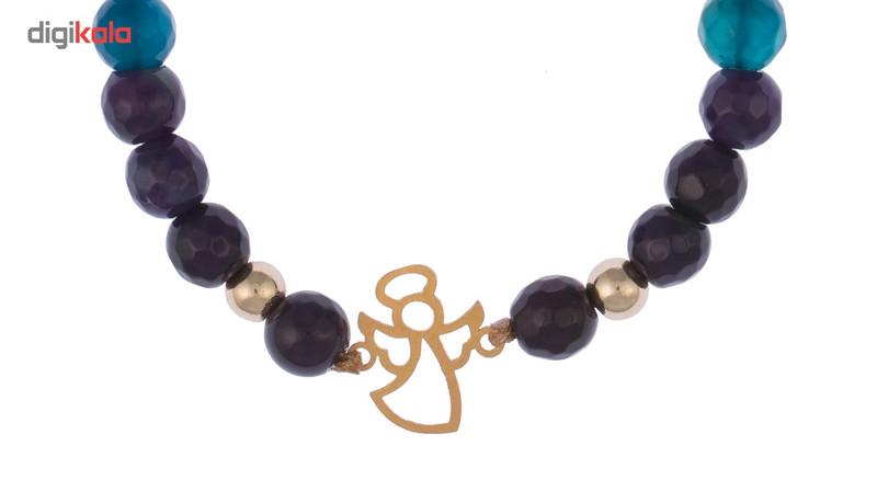 دستبند طلا 18 عیار گرامی گالری مدل B078
