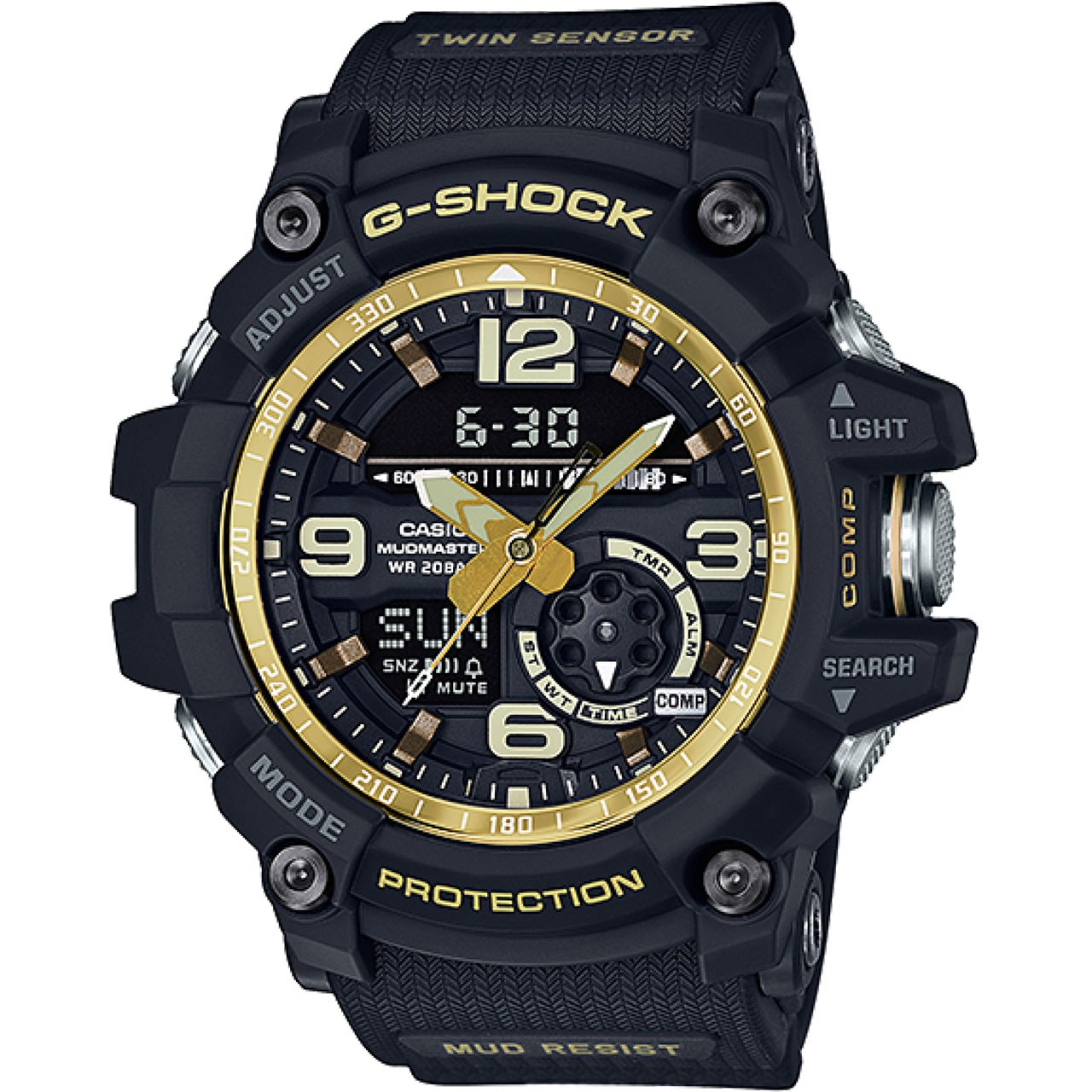 قیمت                      ساعت مچی عقربه ای مردانه کاسیو جی شاک مدل GG-1000GB-1ADR