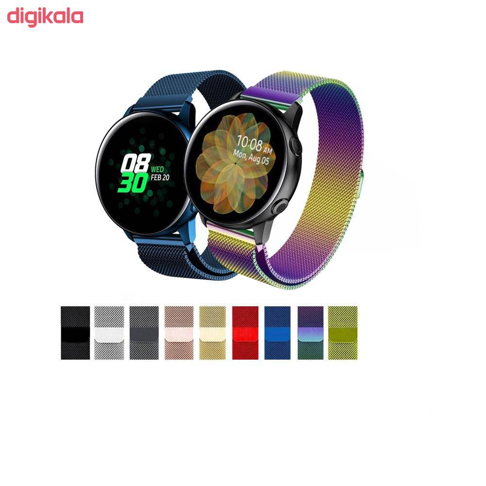 بند مدل Milanese مناسب برای ساعت هوشمند سامسونگ Galaxy Watch Active / Active 2 40mm / Active 2 44mm main 1 12