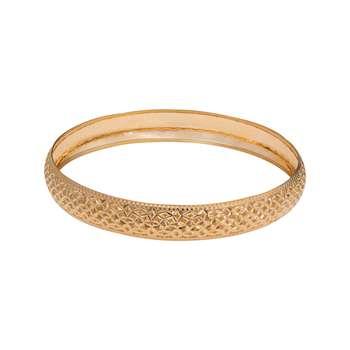 النگو طلا 18 عیار زنانه گالری یارطلا  کد AL06-G-4