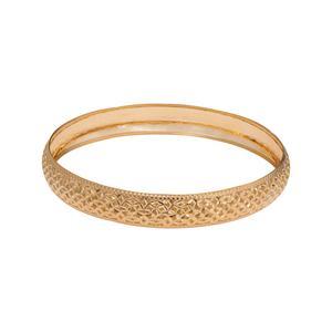 النگو طلا 18 عیار زنانه گالری یارطلا کد AL06-G-3