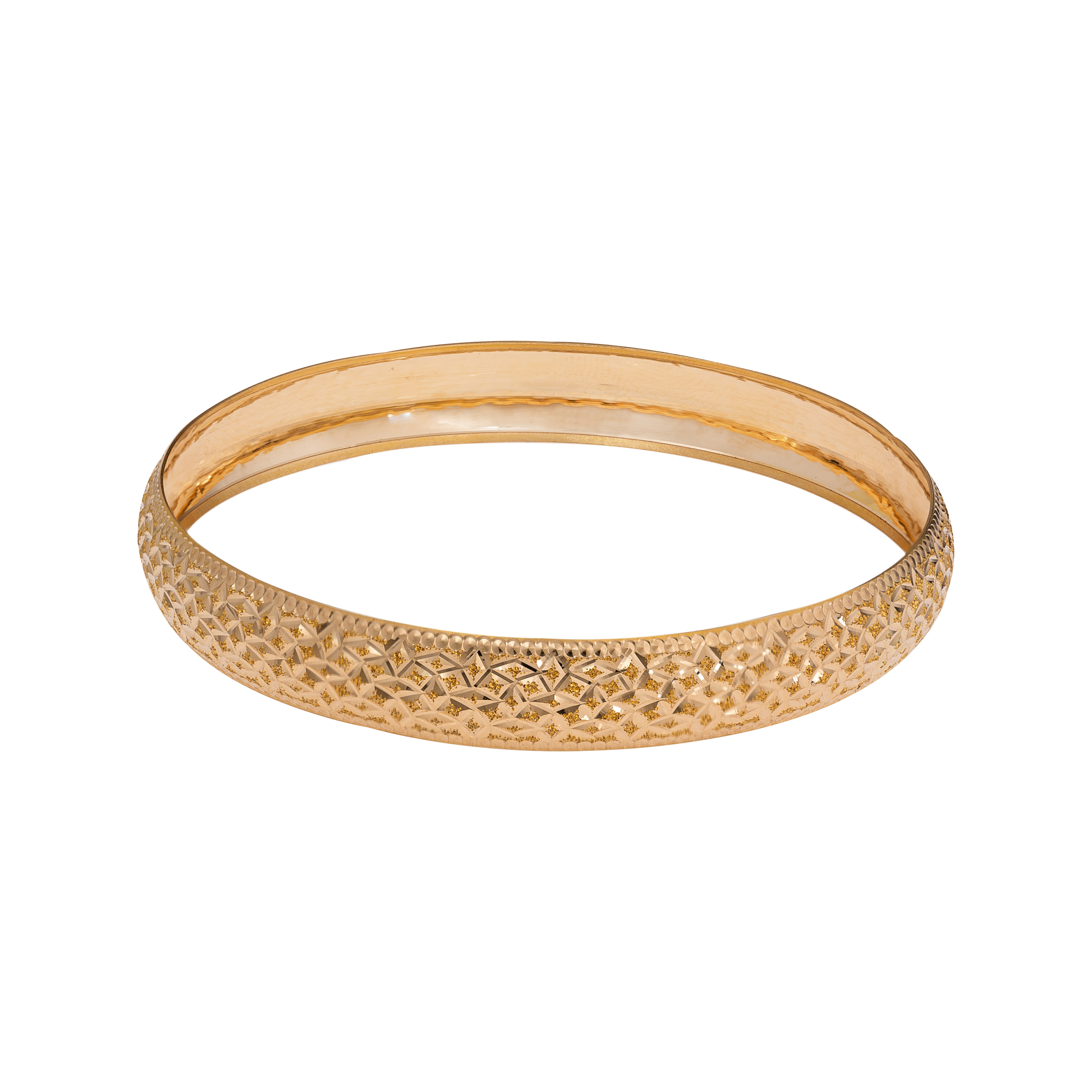 النگو  طلا 18 عیار زنانه گالری یارطلا کد AL06-G-1