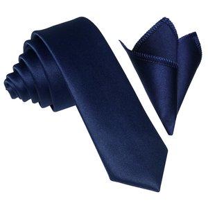 ست کراوات و دستمال جیب مردانه مدل -00-