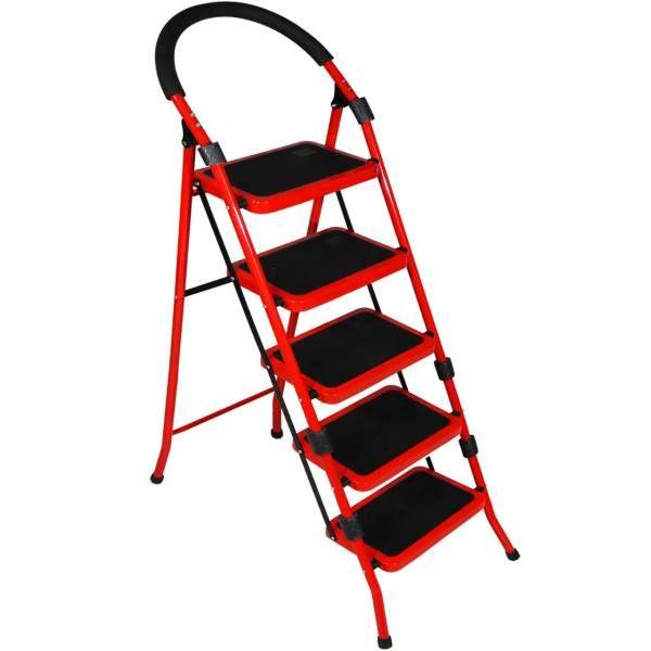 نردبان 5 پله مدل کاراسان کد05